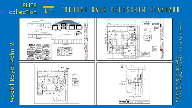 Picture of the architectural plans and construction blueprints for the building permits