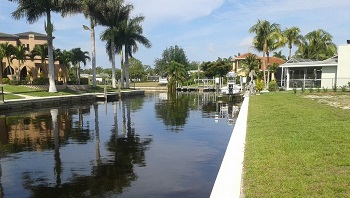 Fort Myers lots for sale on gulf access canals