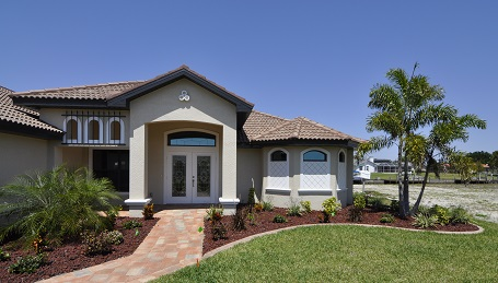 Homes Cape Coral on freshwater canals