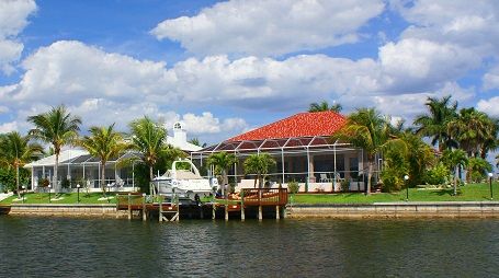 Homes for sale in Cape Coral with access to the Gulf Mexico