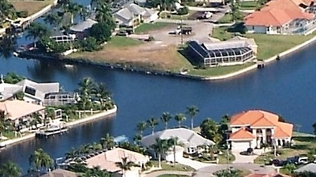 Picture link to gulf access lots for sale in the South of Cape Coral from $300,000 up