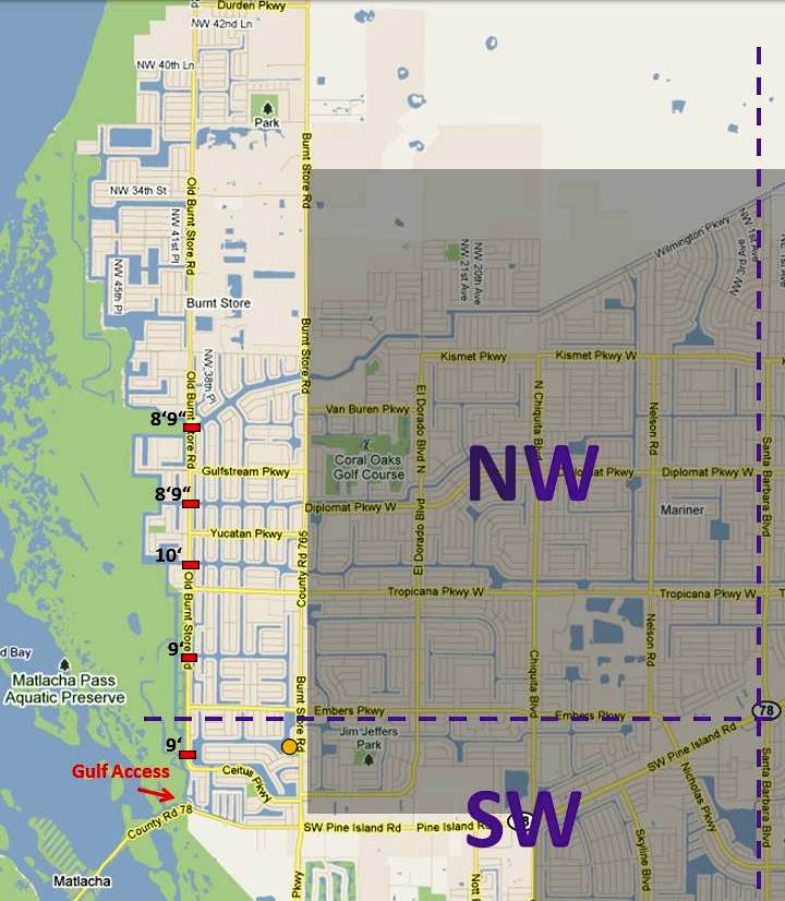 Bridge_Heights_Map_North_Cape_Coral