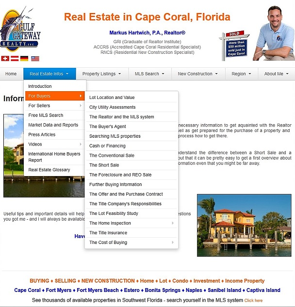 Buy Real Estate Home Lot Cape Coral