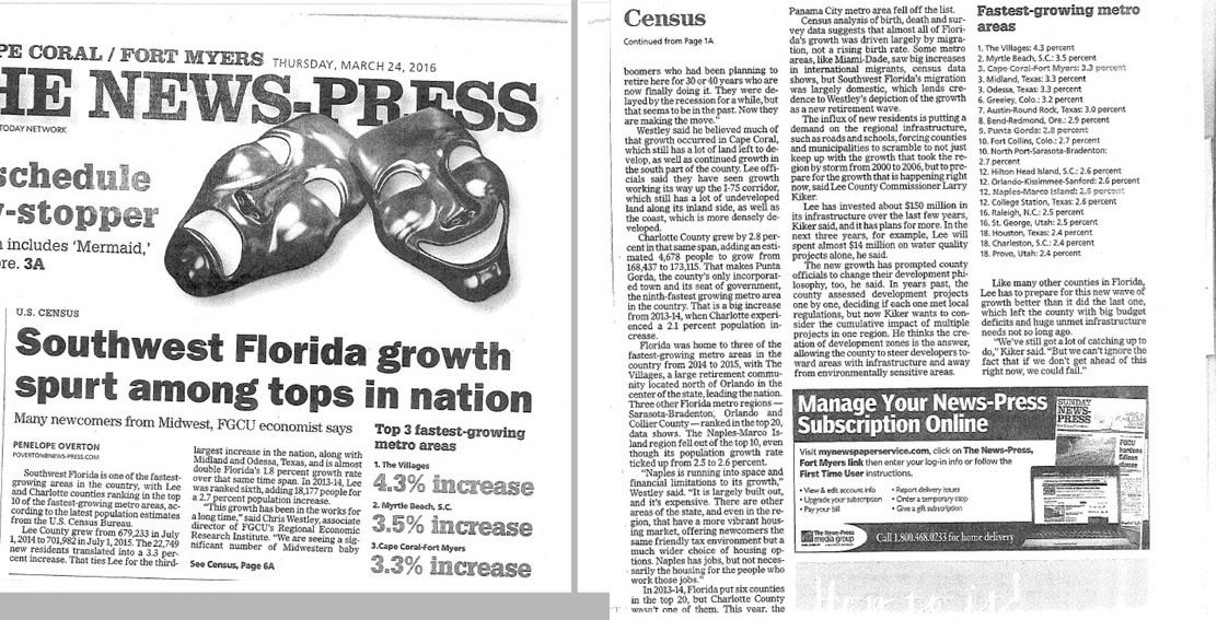 Cape Coral Growth