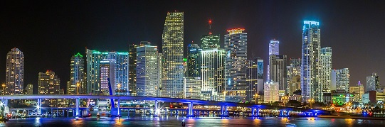 Picture showing the Skyline of Miami
