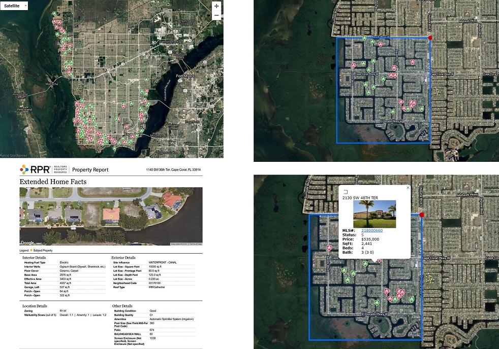 Marktanalyse und Marktwert  Immobilie Cape Coral