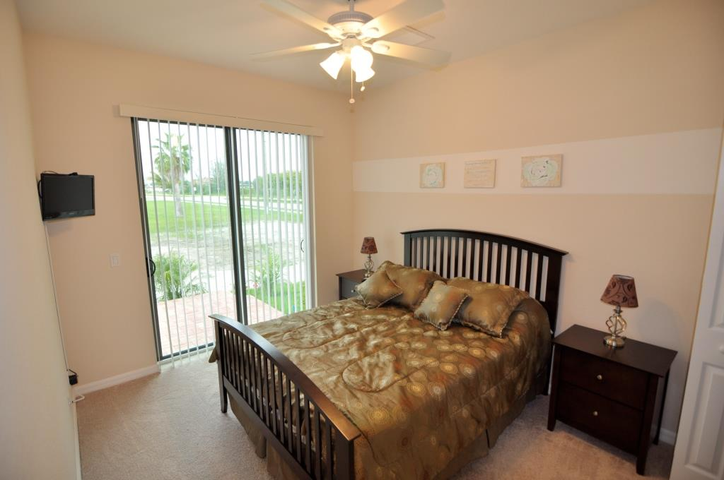 Picture of the New Construction Model Tropical Hideaway showing the guest bedroom 1