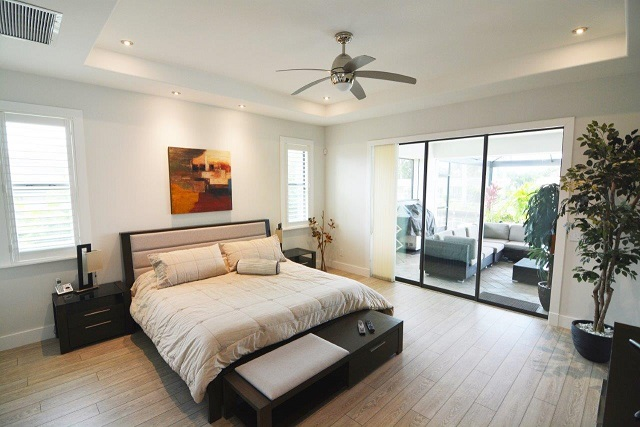 Picture of the New Construction Model Coral Laguna 2 showing the master bedroom