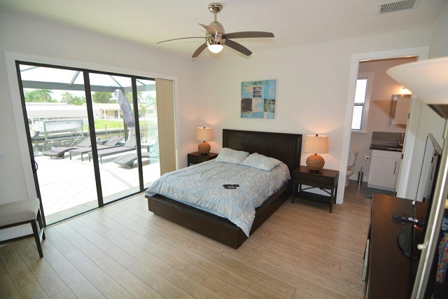 Picture of the New Construction Model Coral Laguna 2 showing the guest bedroom 1