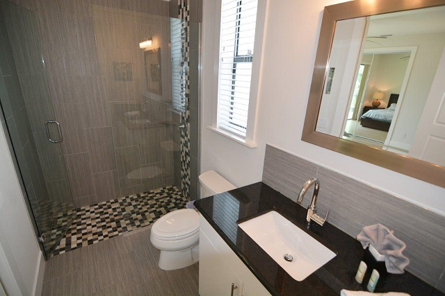 Picture of the New Construction Model Coral Laguna 2 showing the guest bathroom 1