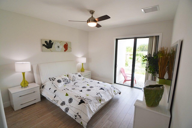 Picture of the New Construction Model Coral Laguna 2 showing the guest bedroom 2