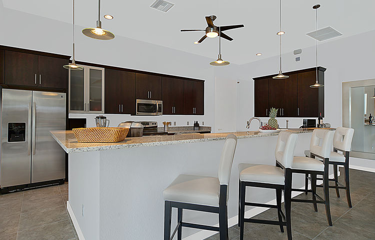Picture of the New Construction Model Gulf Gateway 2 showing the kitchen