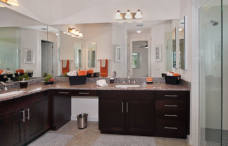 Picture of the New Construction Model Gulf Gateway 2 showing the master bathroom 1