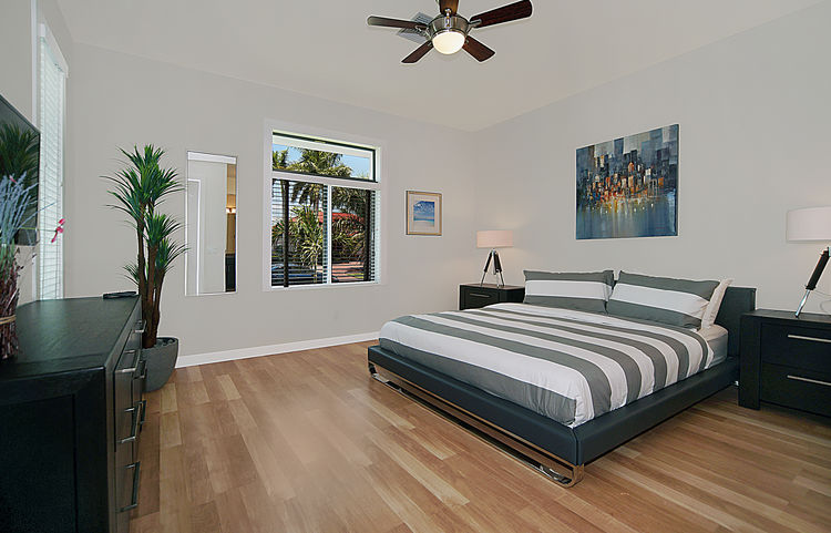 Picture of the New Construction Model Gulf Gateway 2 showing the master bedroom 2