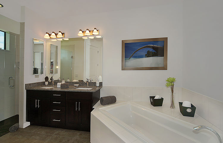 Picture of the New Construction Model Gulf Gateway 2 showing the master bathroom 2