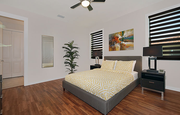 Picture of the New Construction Model Gulf Gateway 2 showing the master bedroom 3