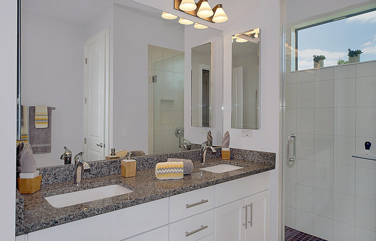 Picture of the New Construction Model Gulf Gateway 2 showing the master bathroom 3