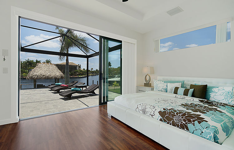 Picture 2 of the New Construction Model Gulf Gateway 2 showing the master bedroom 4