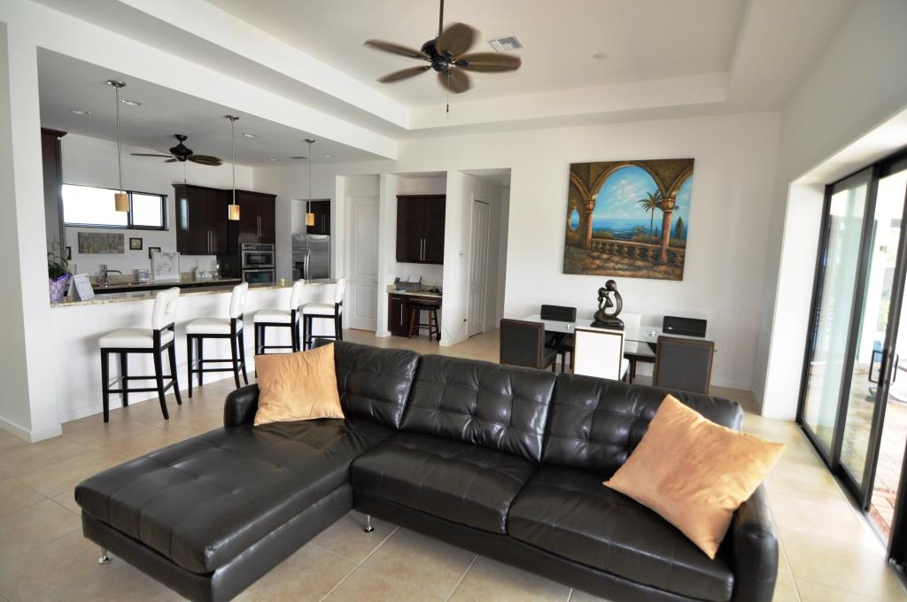 Picture of the New Construction Model Gulf Gateway 1 viewing the living room