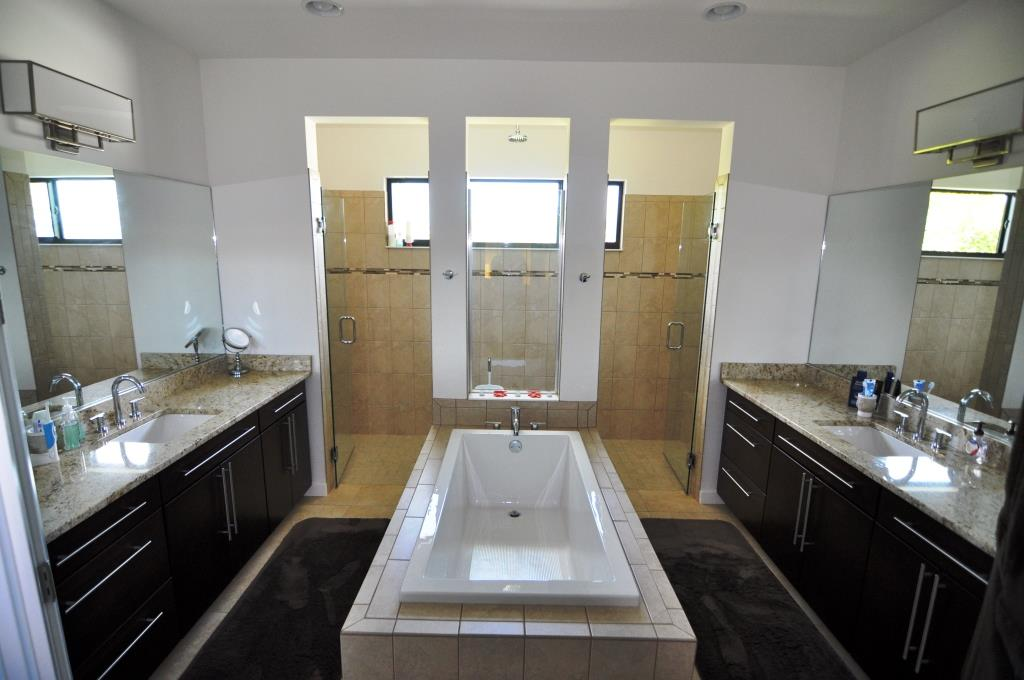 Picture of the New Construction Model Gulf Gateway 1 viewing the master bathroom