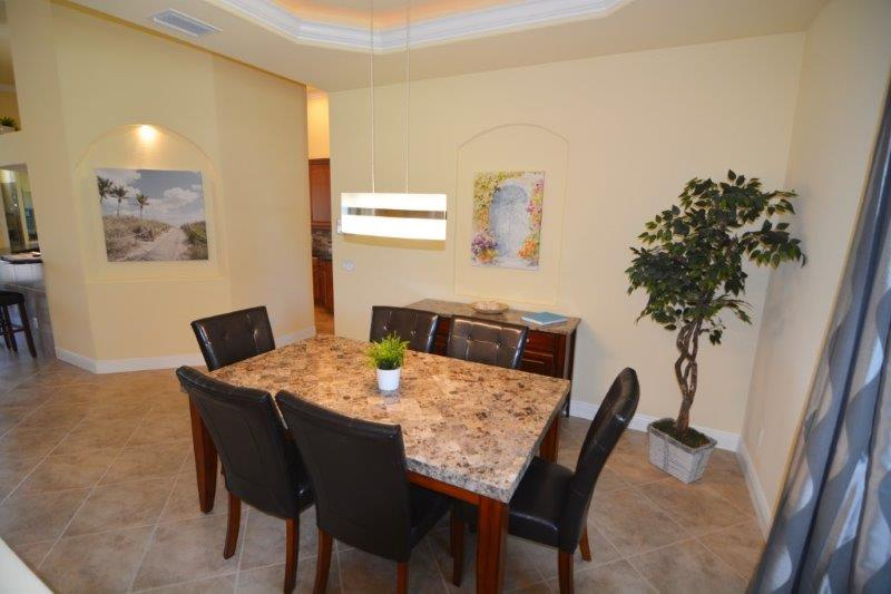 Dining room Cape Coral New Construction Home