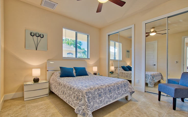 Picture of the New Construction Model Sunset Bay 2 version 2 showing the guest bedroom