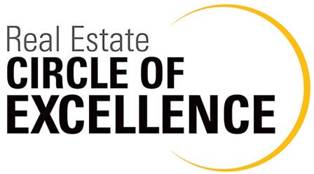 Picture showing the award badge of Real Estate Circle of Excellence