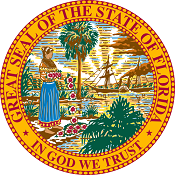 Picture showing the Seal of Florida