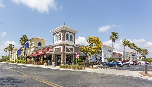 Picture showing shops at the Gulfcoast Town Center