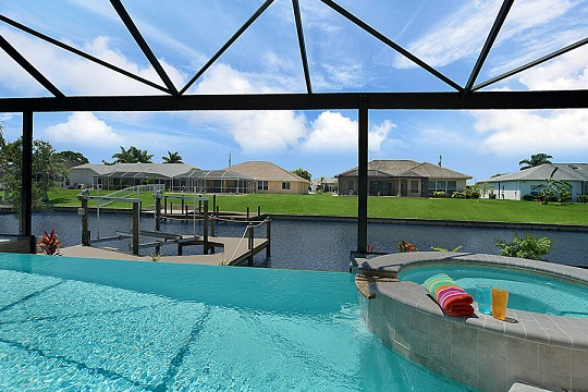 new construction homes cape coral fl pool and spa