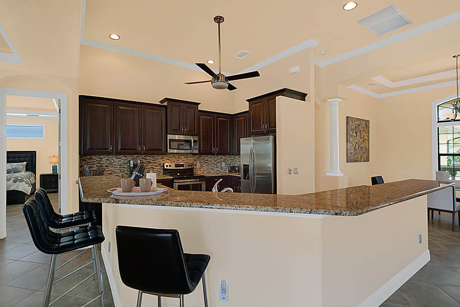 New construction floor plan traditional kitchen